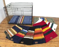 Keep your pet comfortable in their crate with a Sleeper Mat, sold separately.